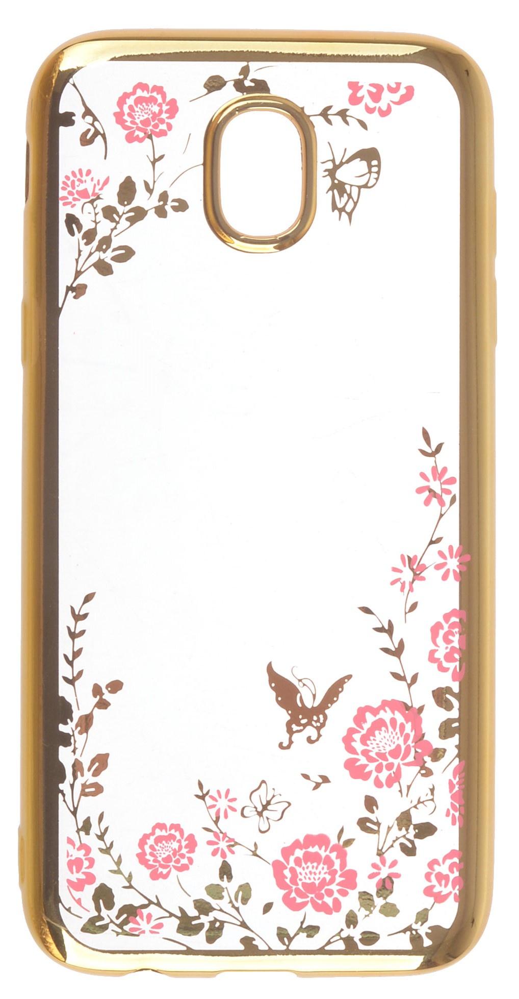 Чехол для сотового телефона skinBOX silicone chrome border color style 1, 4660041402216, розовый skinbox silicone chrome border color style 1 4people чехол для apple iphone 7 8 green