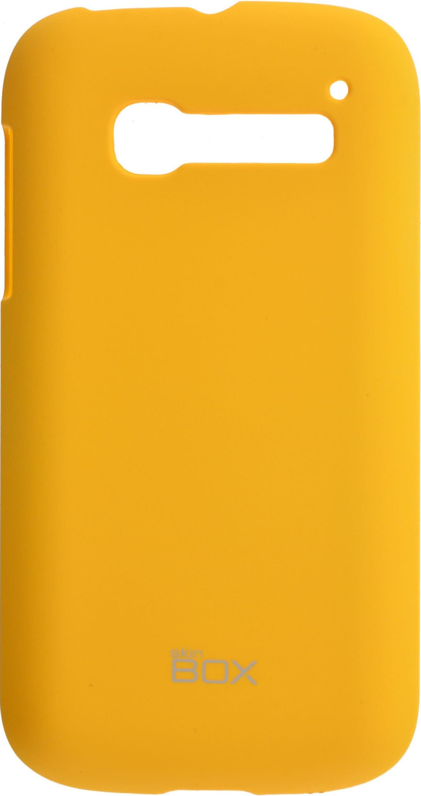 Чехол для сотового телефона skinBOX 4People, 4630042526839, желтый стоимость