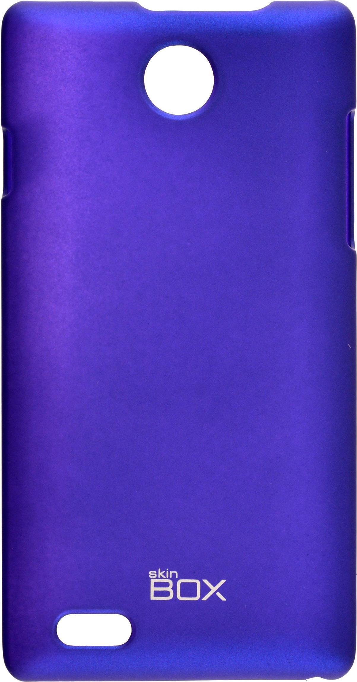 Чехол для сотового телефона skinBOX 4People, 4630042526877, синий все цены