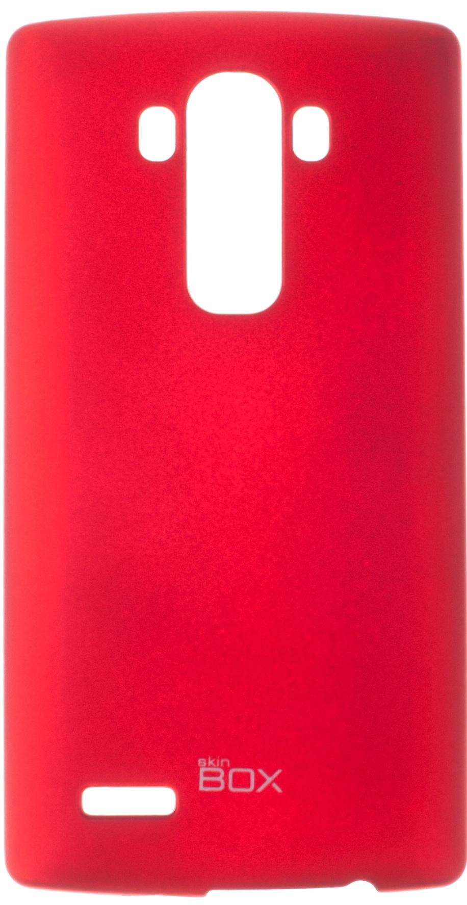 Чехол для сотового телефона skinBOX 4People, 4630042527003, красный цена