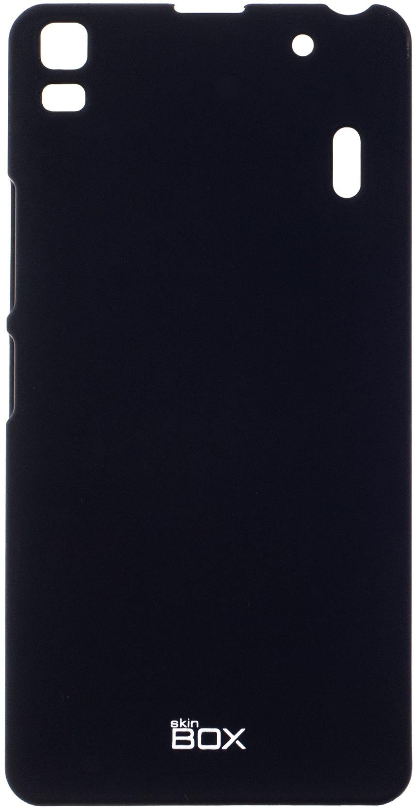 цена на Чехол для сотового телефона skinBOX 4People, 4630042527102, черный