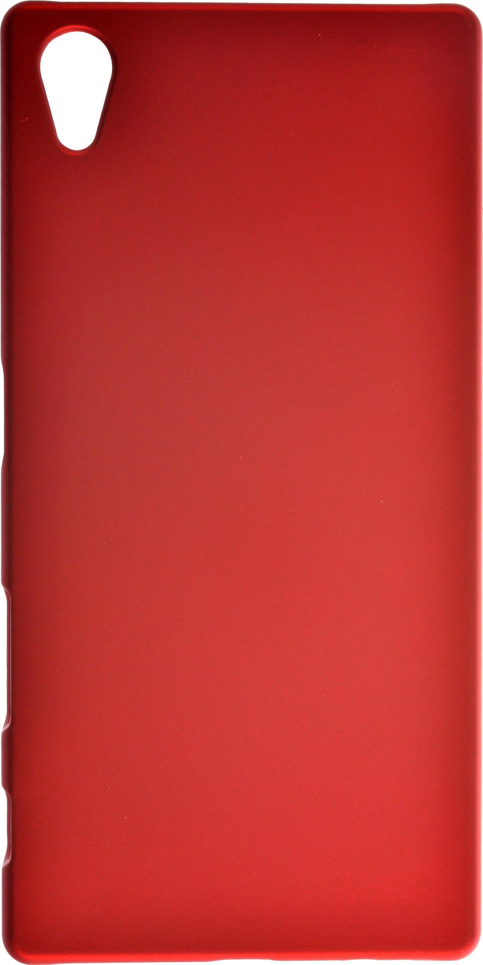 Чехол для сотового телефона skinBOX 4People, 4630042527430, красный цена