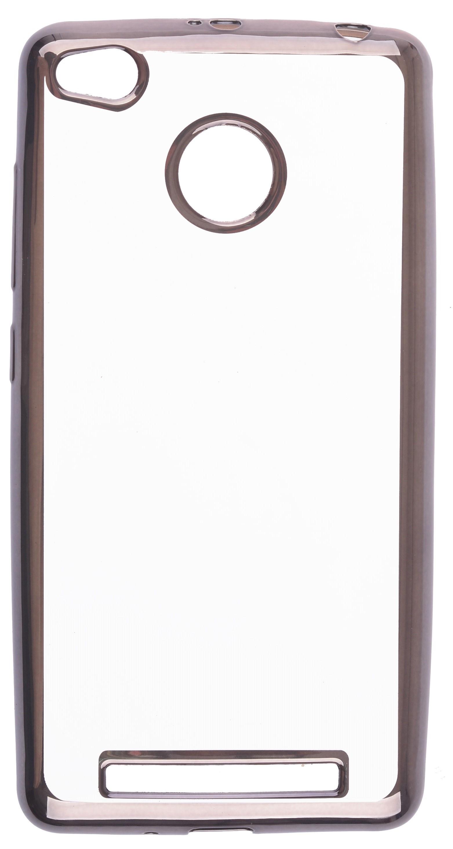 все цены на Чехол для сотового телефона skinBOX Silicone chrome border, 4630042528666 онлайн