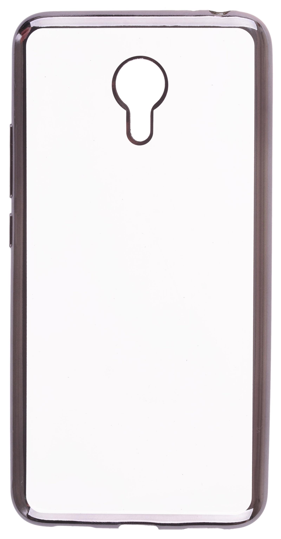Чехол для сотового телефона skinBOX Silicone chrome border, 4630042528673 цена и фото