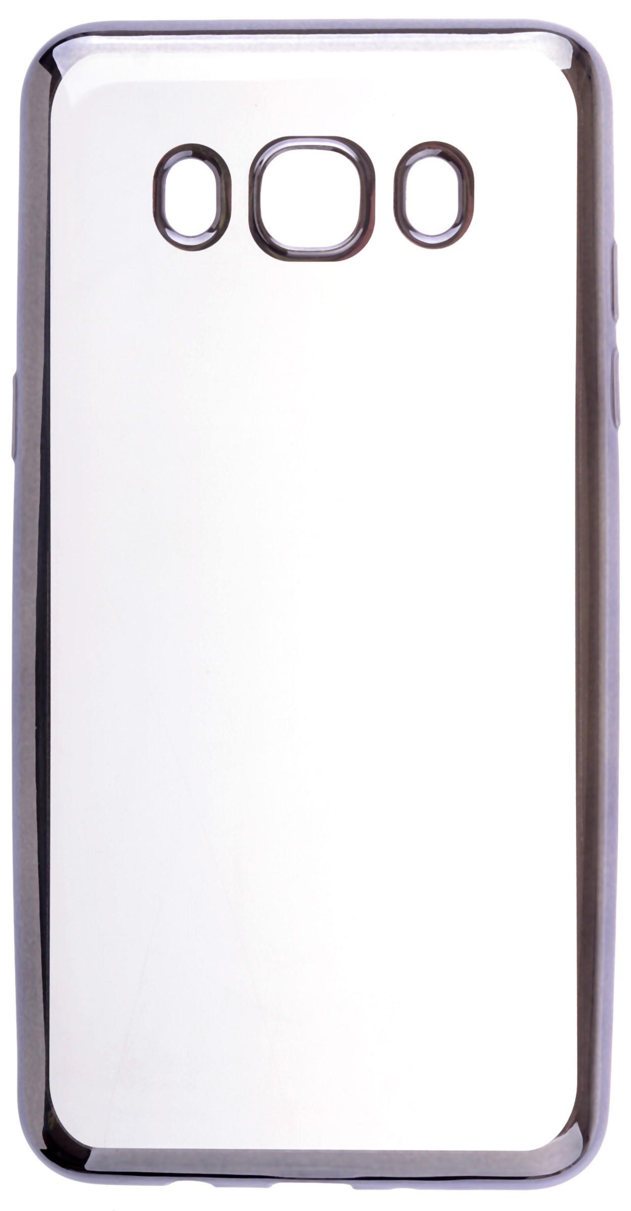 все цены на Чехол для сотового телефона skinBOX Silicone chrome border, 4630042528703 онлайн