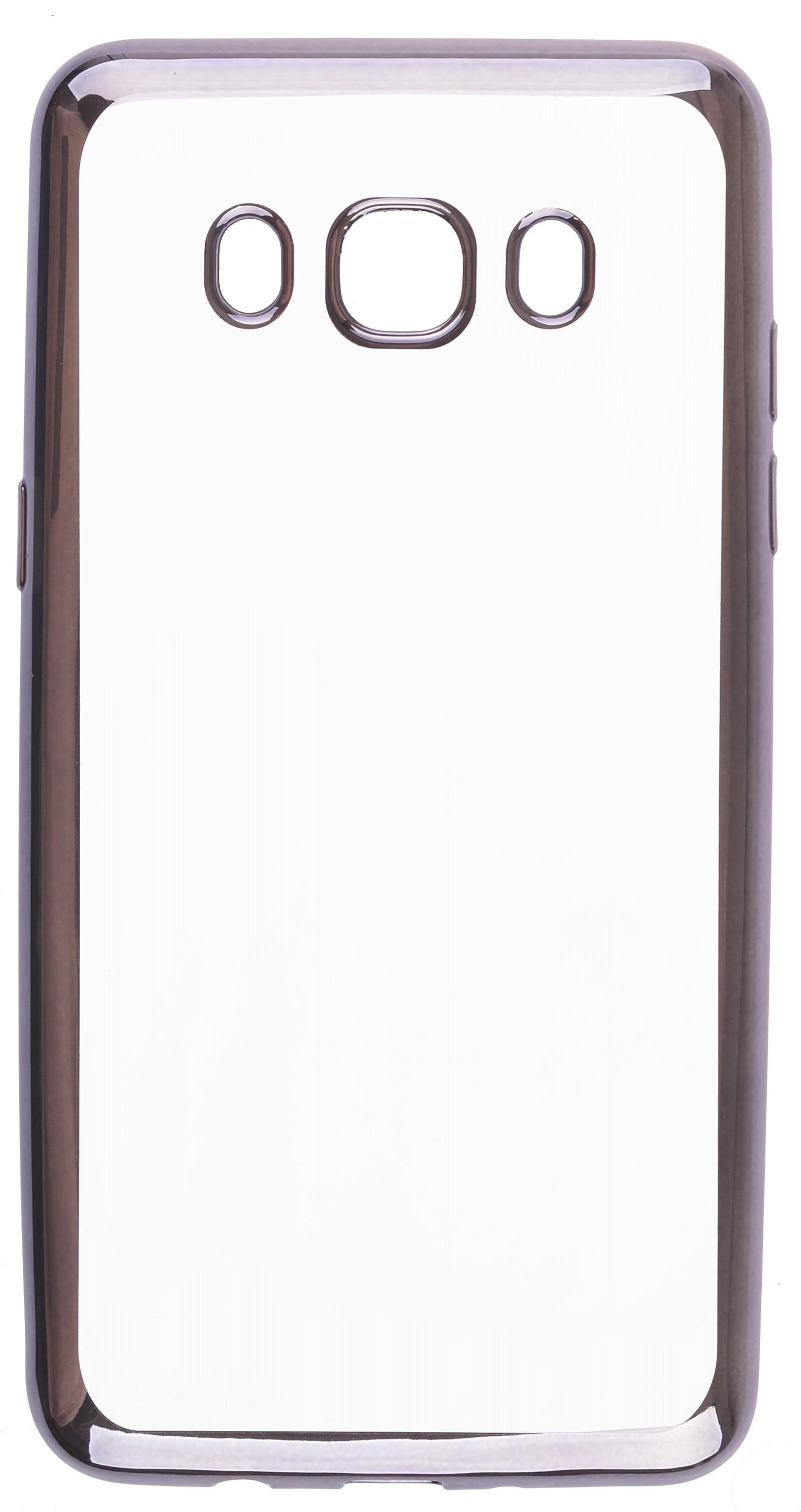 Чехол для сотового телефона skinBOX Silicone chrome border, 4630042528734 protective pu leather case for htc one s black