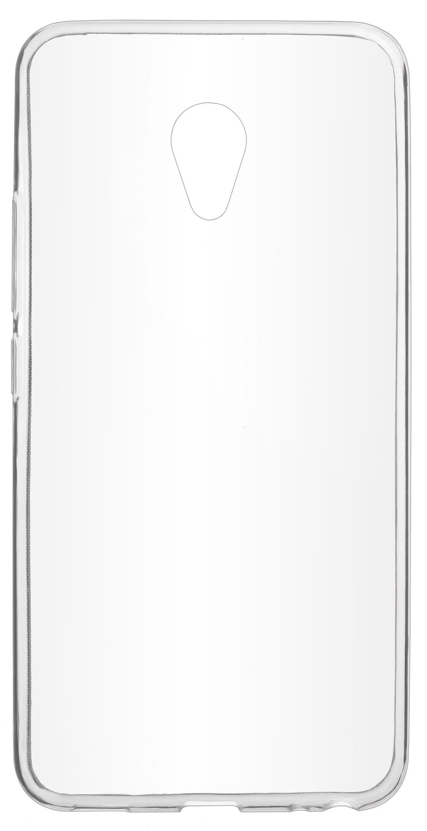 Чехол для сотового телефона skinBOX Slim Silicone, 4630042529380, прозрачный цена и фото