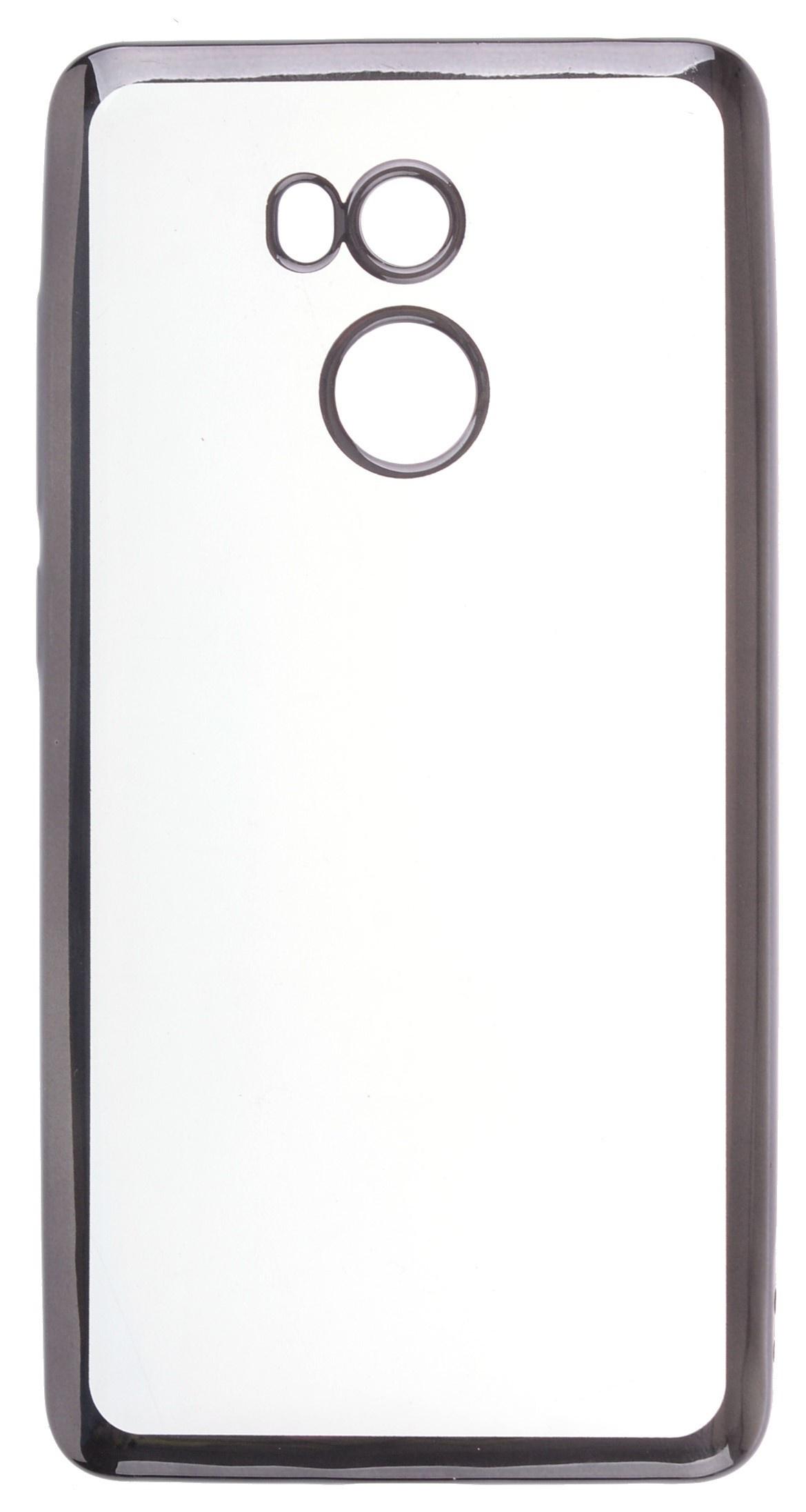 Чехол для сотового телефона skinBOX Silicone chrome border, 4630042529588 цена и фото