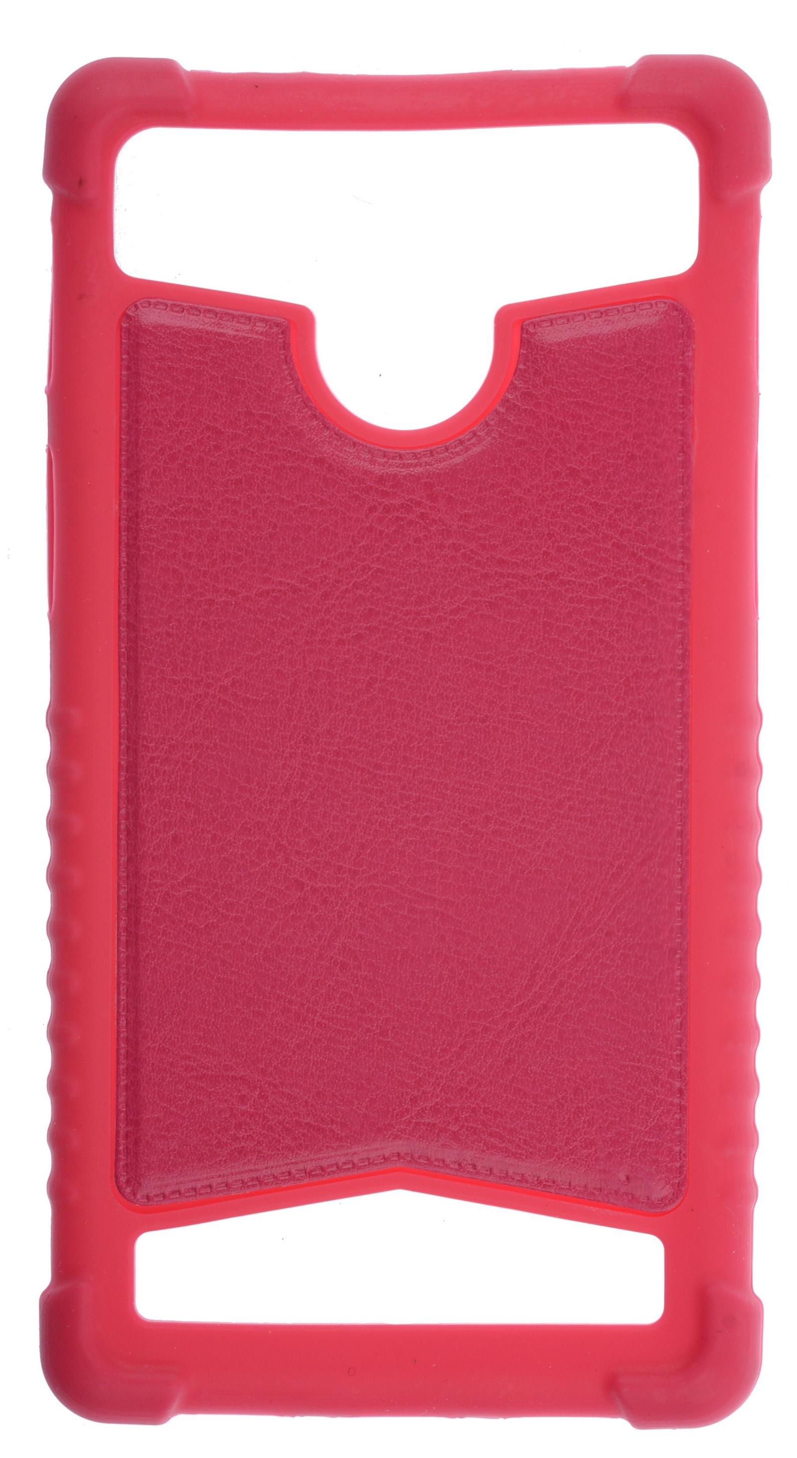Чехол для сотового телефона skinBOX Universal 5,5, 4630042529649, красный