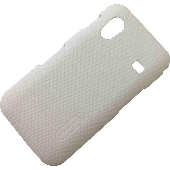 Чехол для сотового телефона Nillkin Super Frosted, 6956473209751, белый чехол защитный nillkin lenovo k910 vibe z