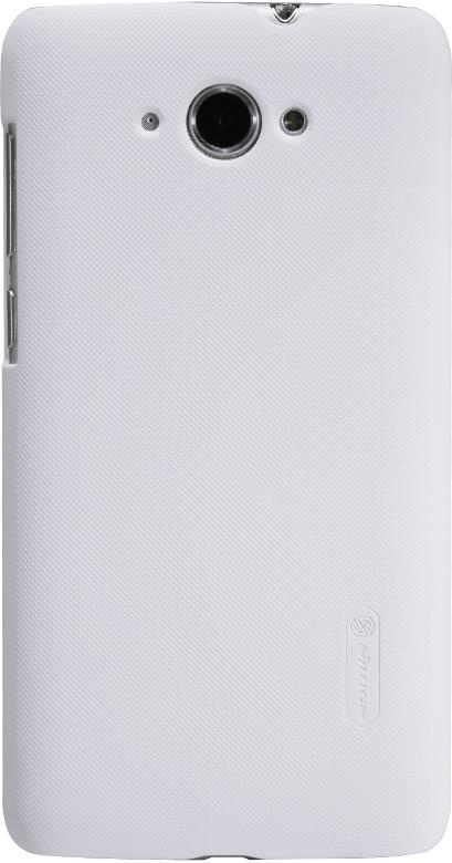 Чехол для сотового телефона Nillkin Super Frosted, 6956473270096, белый чехол для lenovo ideaphone k910 vibe z ibox premium black