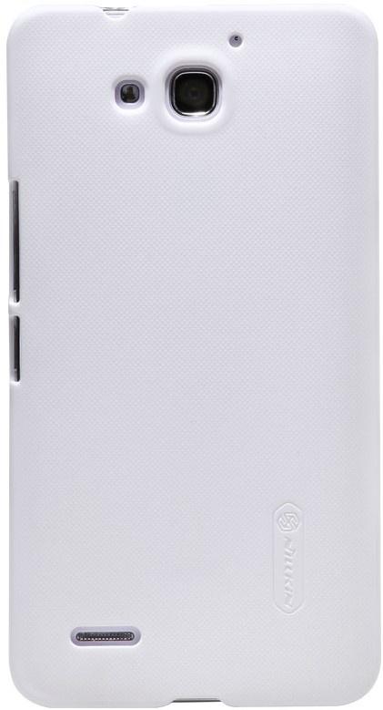 Чехол для сотового телефона Nillkin Super Frosted, 6956473274452, белый чехол защитный nillkin lenovo k910 vibe z