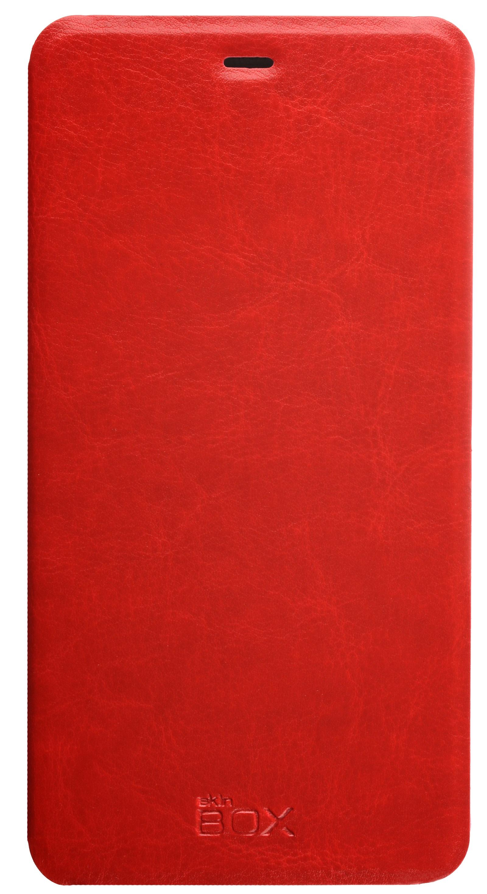 Чехол для сотового телефона skinBOX Lux, 4630042525320, красный цена и фото