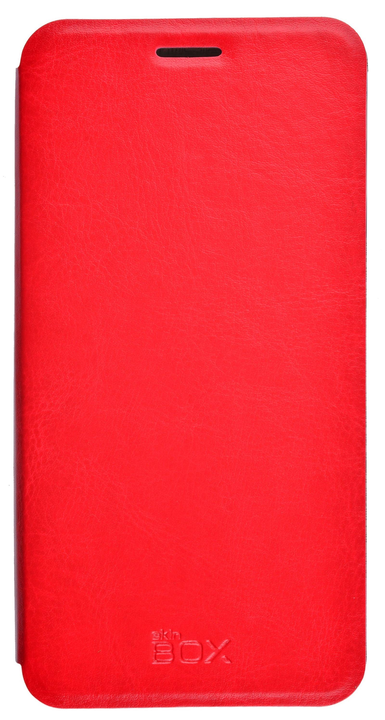 Чехол для сотового телефона skinBOX Lux, 4630042525337, красный чехол защитный skinbox samsung galaxy j7 prime galaxy on7 sm g600f