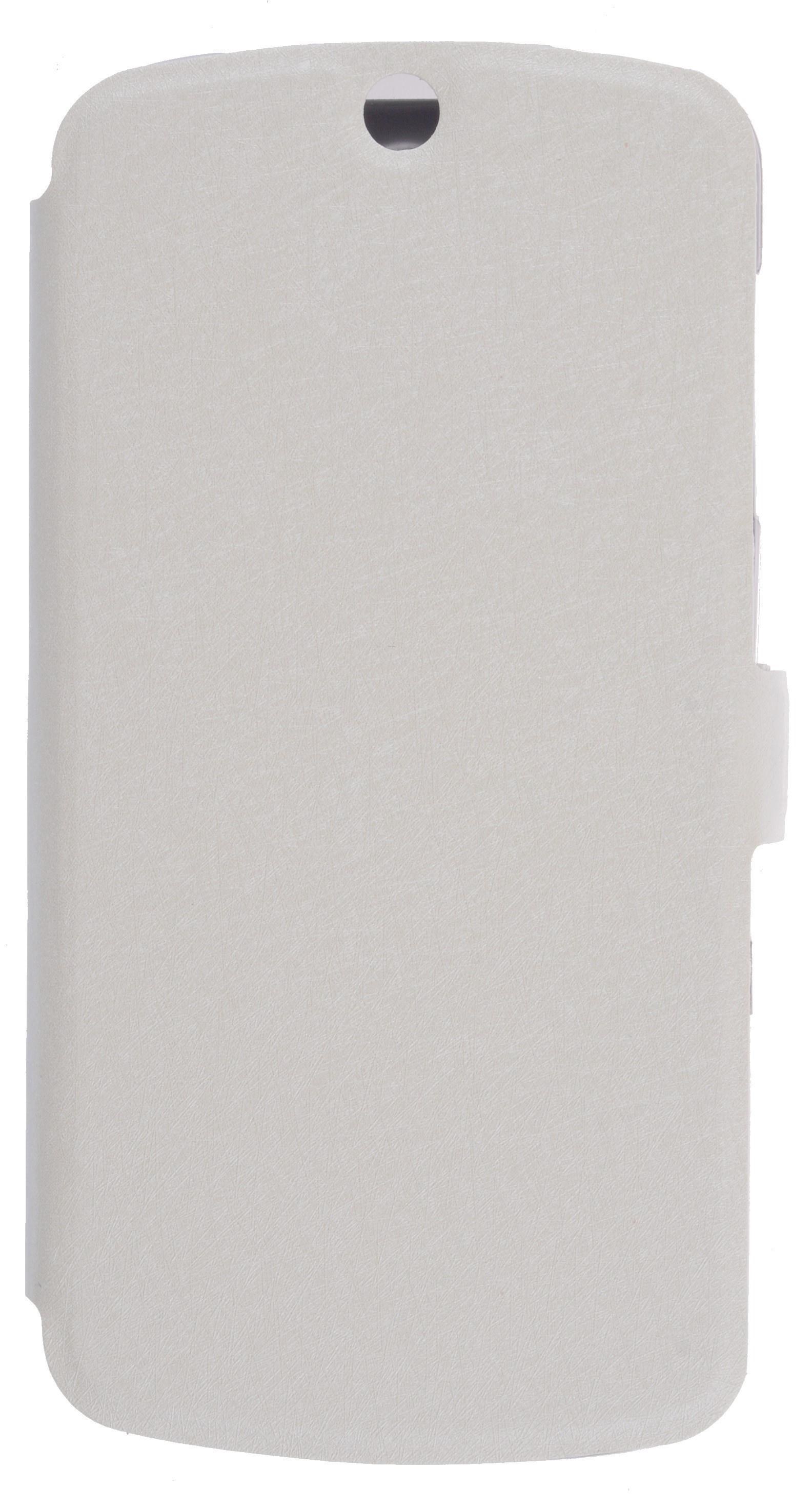Чехол для сотового телефона PRIME Book, 4630042525443, белый недорго, оригинальная цена
