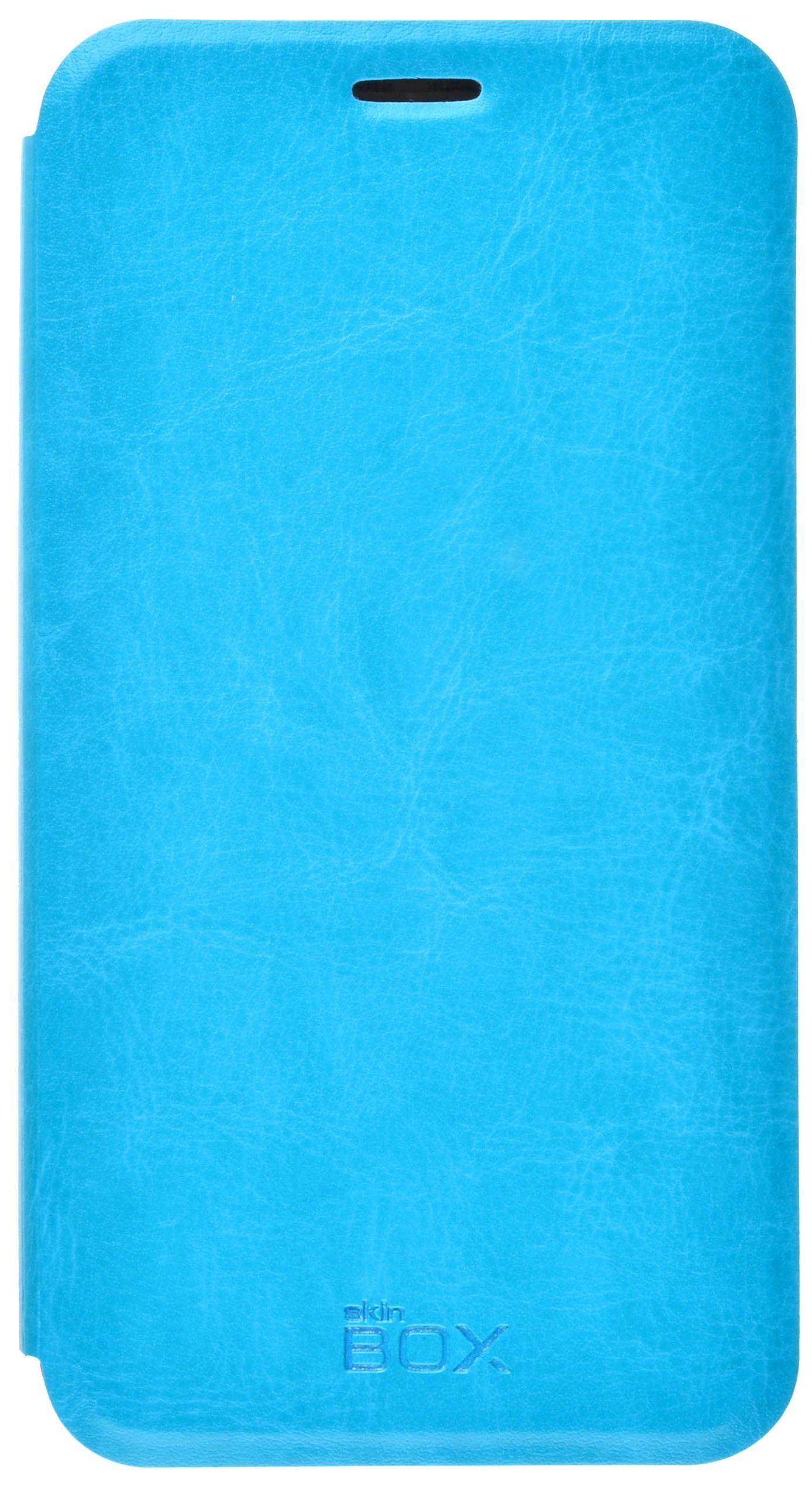 Чехол для сотового телефона skinBOX Lux, 4630042528031, синий
