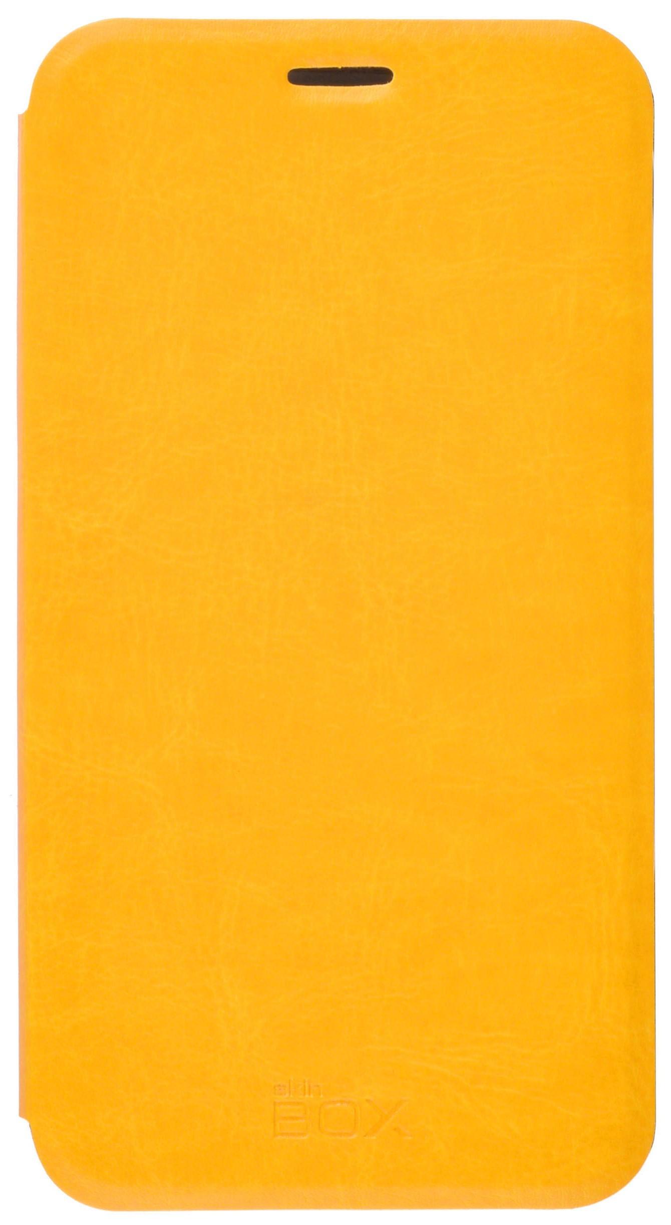 Чехол для сотового телефона skinBOX Lux, 4630042528048, желтый цена