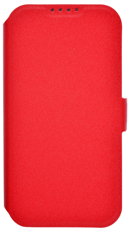 цена на Чехол для сотового телефона PRIME Book, 4630042528215, красный