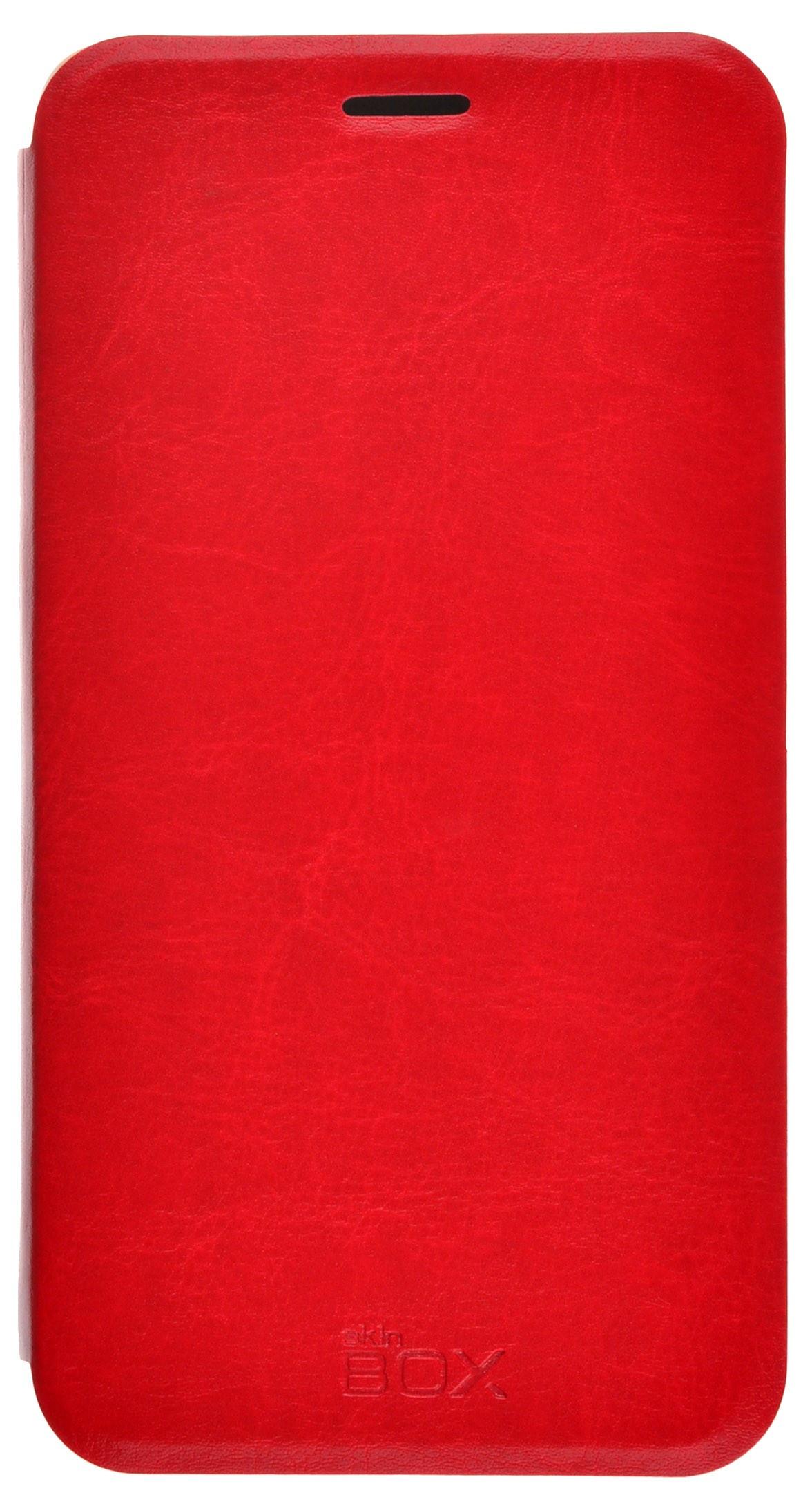 Чехол для сотового телефона skinBOX Lux, 4630042528352, красный цена и фото