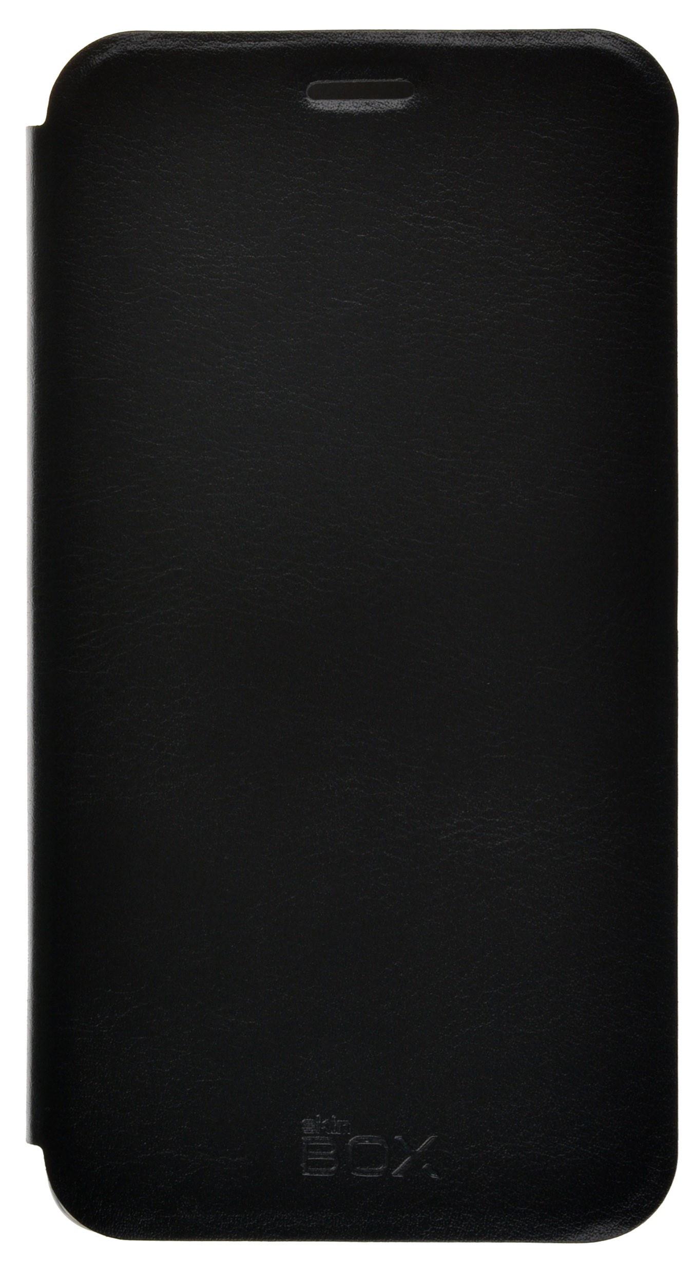 Чехол для сотового телефона skinBOX Lux, 4630042528369, черный стоимость