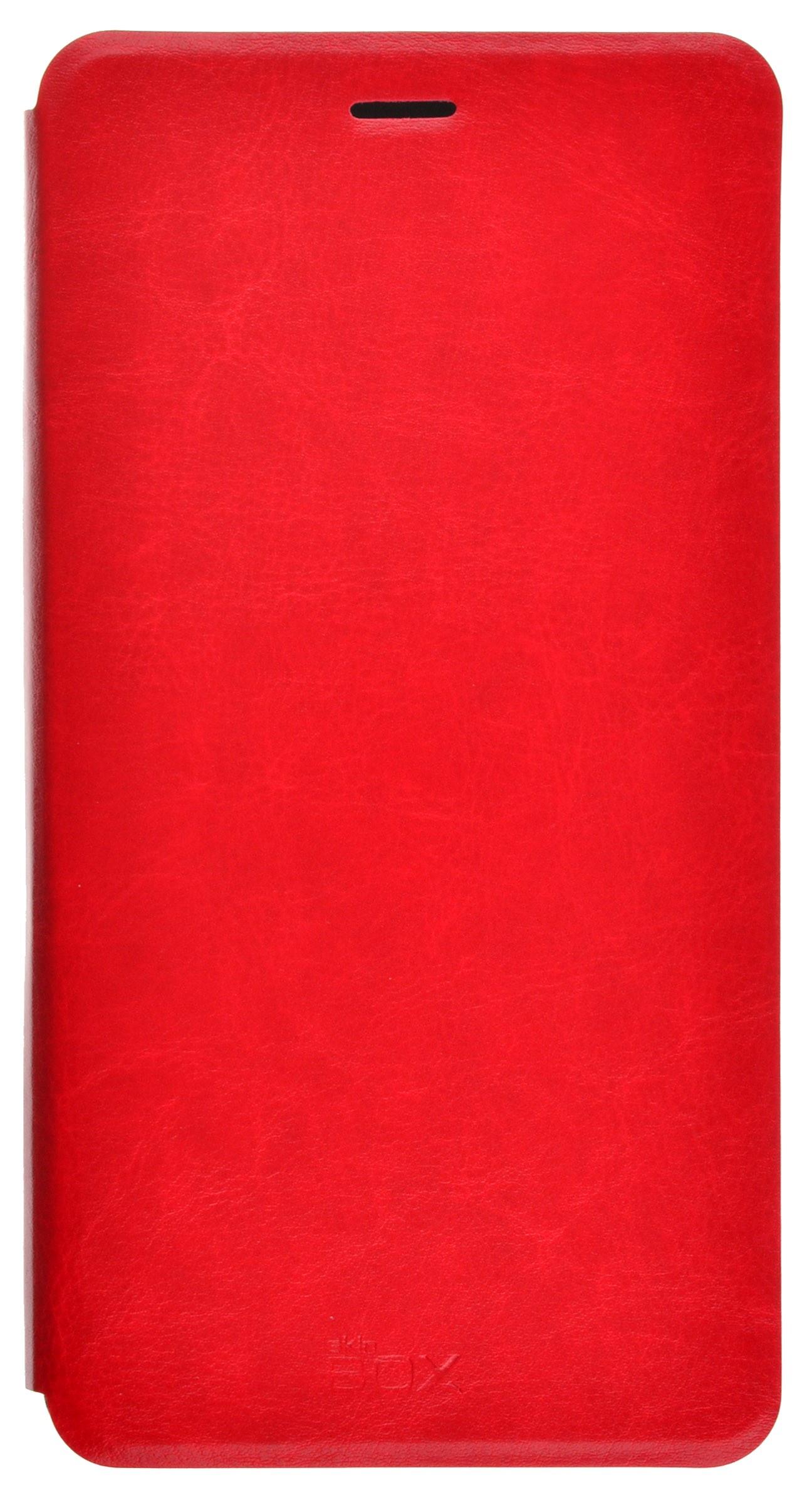 Чехол для сотового телефона skinBOX Lux, 4630042528376, красный чехол защитный skinbox samsung galaxy j7 prime galaxy on7 sm g600f