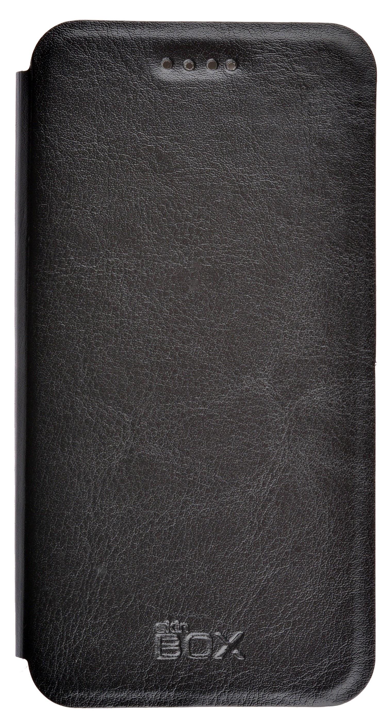 Чехол для сотового телефона skinBOX Lux, 4630042528796, черный все цены