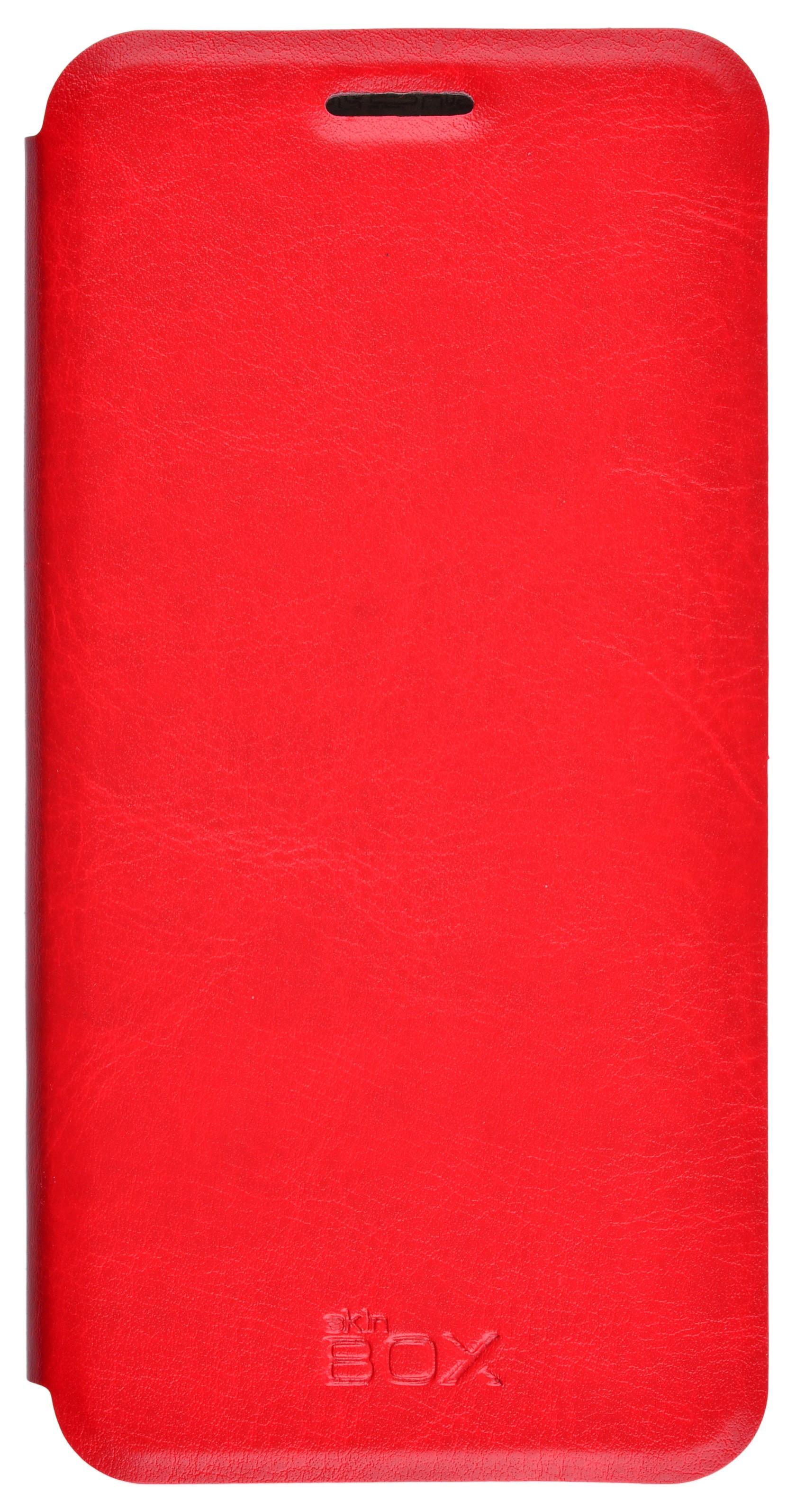 Чехол для сотового телефона skinBOX Lux, 4630042528840, красный цена и фото
