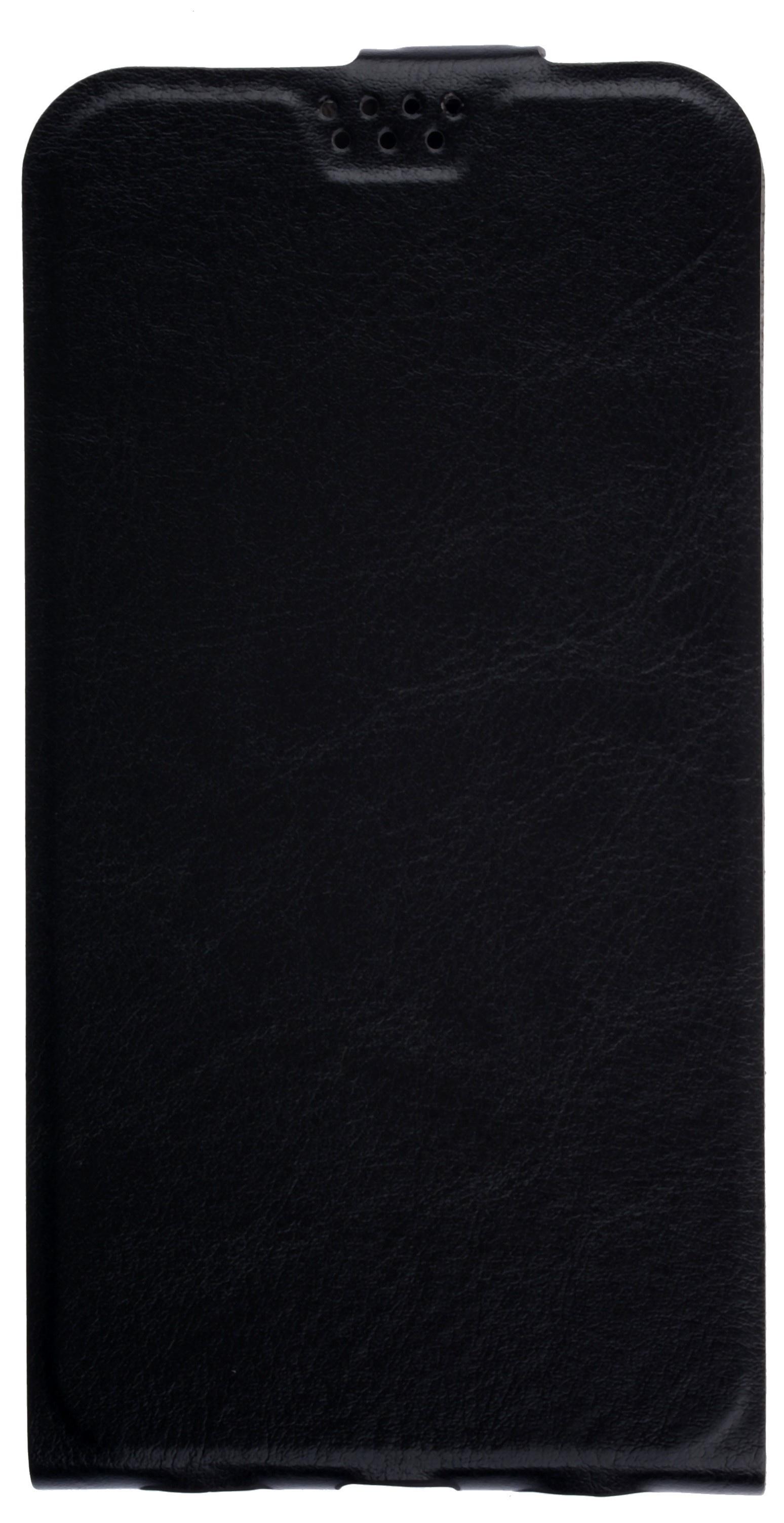 купить Чехол для сотового телефона skinBOX Flip slim, 4630042529618, черный по цене 190 рублей