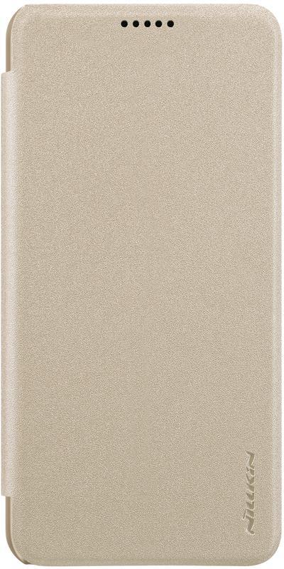 Чехол для сотового телефона Nillkin Sparkle, 6902048164956, золотой чехол для сотового телефона nillkin sparkle 6902048161108 золотой