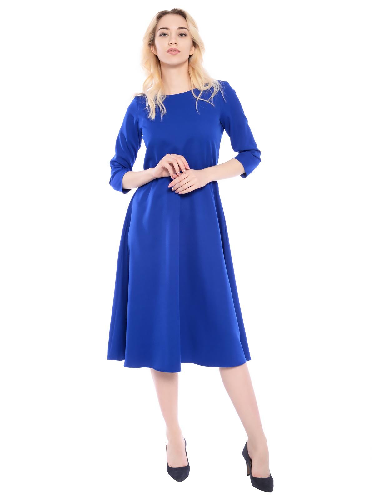 Платье ZAFTO однотонное платье с резинкой и карманами adzhedo page 15