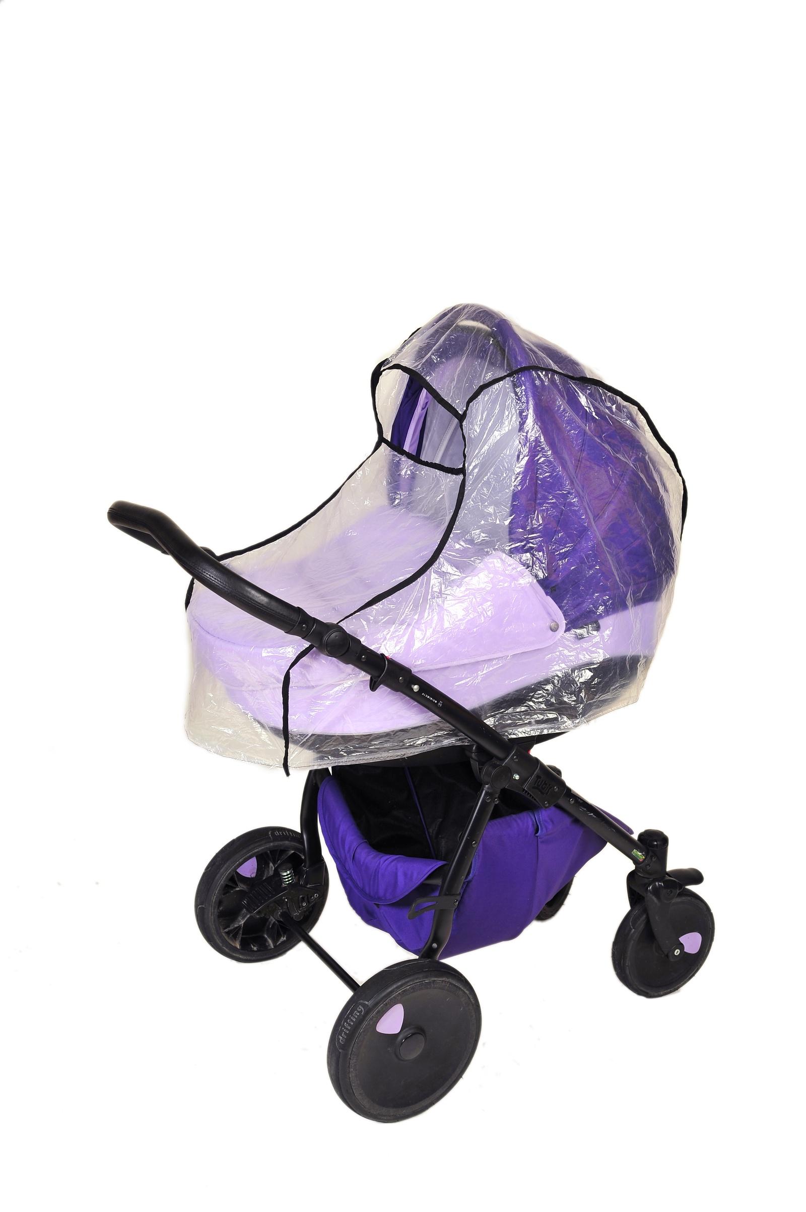 Аксессуар для колясок Шумелки Дождевик на коляску Люлька прозрачный цена
