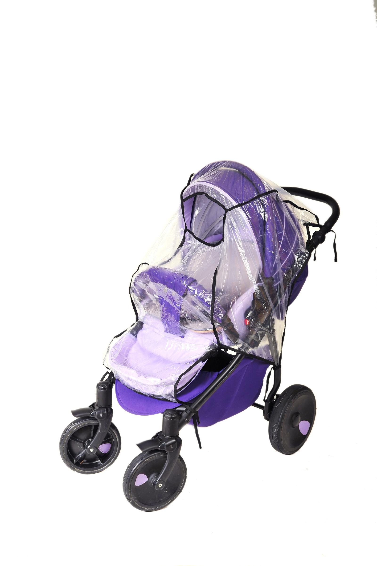 Аксессуар для колясок Шумелки Дождевик на прогулочную коляску прозрачный