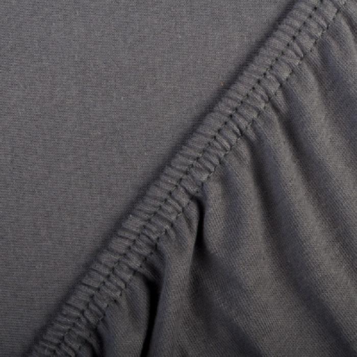 Простыня ТК Традиция на резинке 200х200х20 см, 1445/Графит, темно-серый1445/ГрафитПростыня из трикотажного полотна, имеет 100% хлопковый состав. Плотность трикотажа - 125 гр/кв.м. Мягкая, уютная и очень удобная в использовании. Резинка пришита по всему периметру изделия. Обеспечивается надежная фиксация простыни на матрасе, простыня не сбивается и не сминается. Размер простыни подбирается согласно размеру спального места. Индивидуальная упаковка.