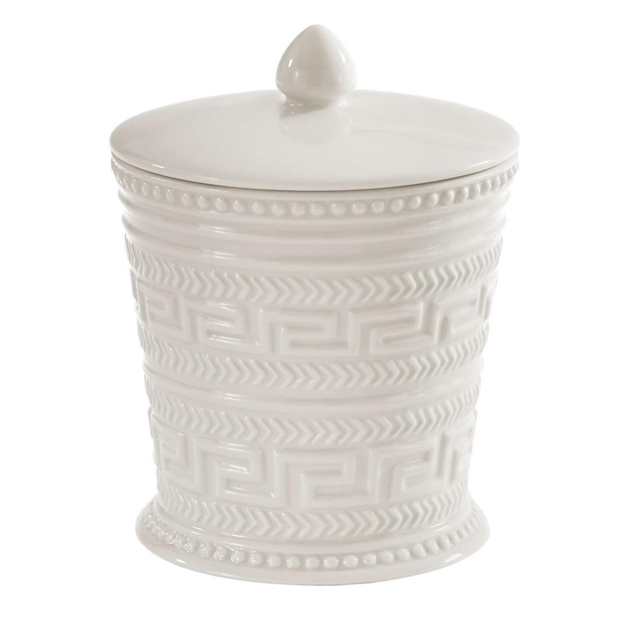 Органайзер для мелочей и косметики Kassatex Santorini, ASN-CJ, белыйASN-CJДобавив в интерьер ванной комнаты несколько стильных вещей, можно полностью преобразить ее облик и обновить дизайн. Эта коллекция для ванной изобилует разнообразными аксессуарами, которые способны создать новый образ или освежить старый. В любом случае, с ними ваше пространство засияет новыми красками. Строгие и одновременно изящные линии, тонкое чувство стиля, отменное качество исполнения рождает продукты, которые выдержат испытание временем.
