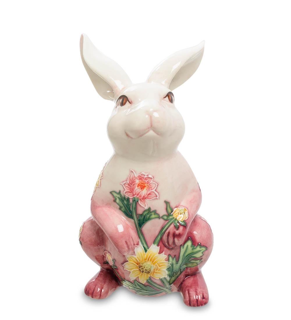 Фигурка декоративная Pavone КроликJP-147/ 2, 1002210022Фигурка Кролика высотой 16 см. Кролик - символ удачи и добродетельности. А в такой шикарном исполненнии еще и прекрасный сувенир!
