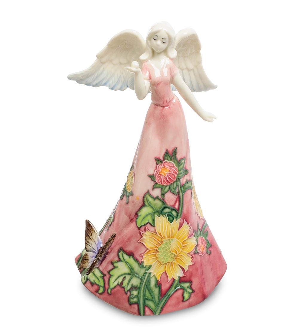Фигурка декоративная Pavone Девушка-ангел JP-147/16, 104429 фигурка pavone бабочка на счастье 10 5 см