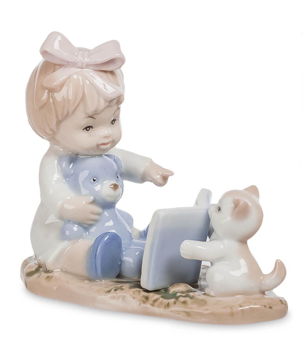 купить Фигурка декоративная Pavone Юный учитель JP-45/ 4, 106394 онлайн