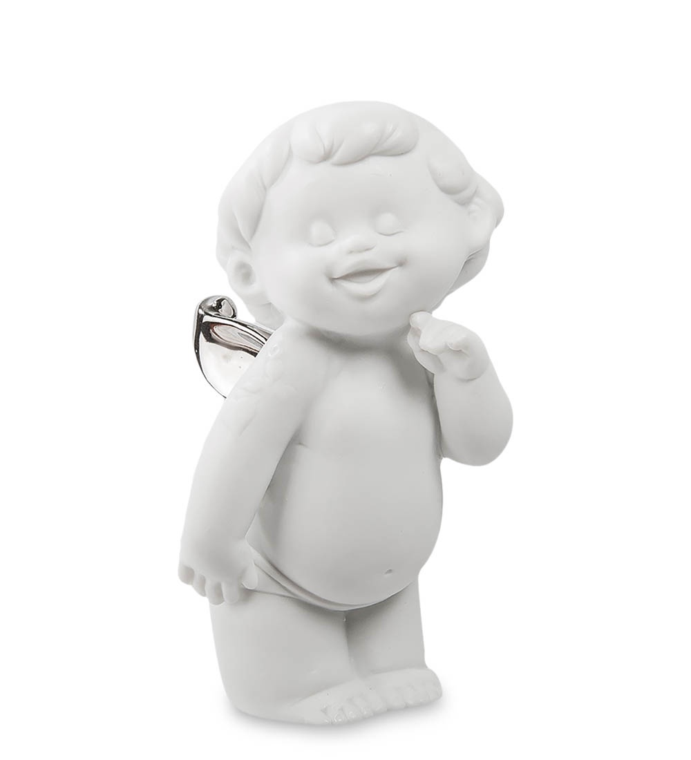 Фигурка декоративная Pavone Амурчик бисквит JP-48/ 8, 105891 jp 48 3фигурка амурчик бисквит pavone