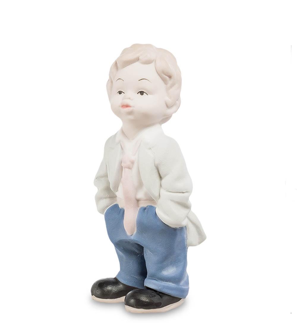 цена на Фигурка декоративная Pavone Мальчик бисквит JP-48/23, 107015