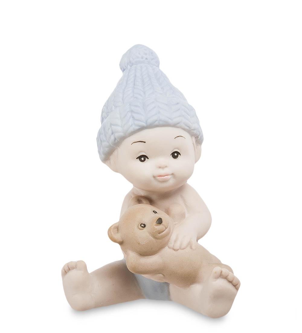 цена на Фигурка декоративная Pavone Мальчик бисквит JP-48/29, 107021