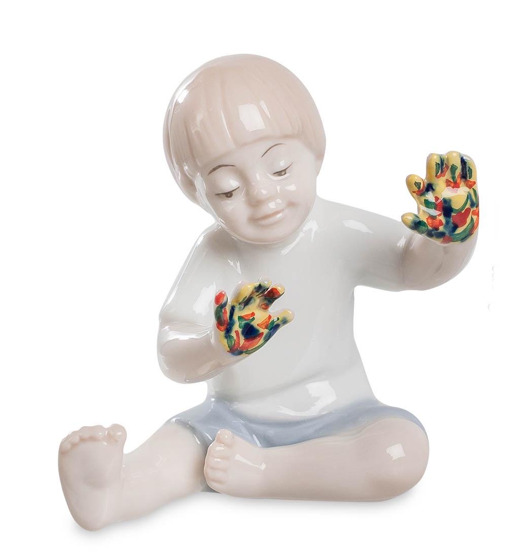 купить Фигурка декоративная Pavone Юный художник JP-50/ 1, 105915 онлайн