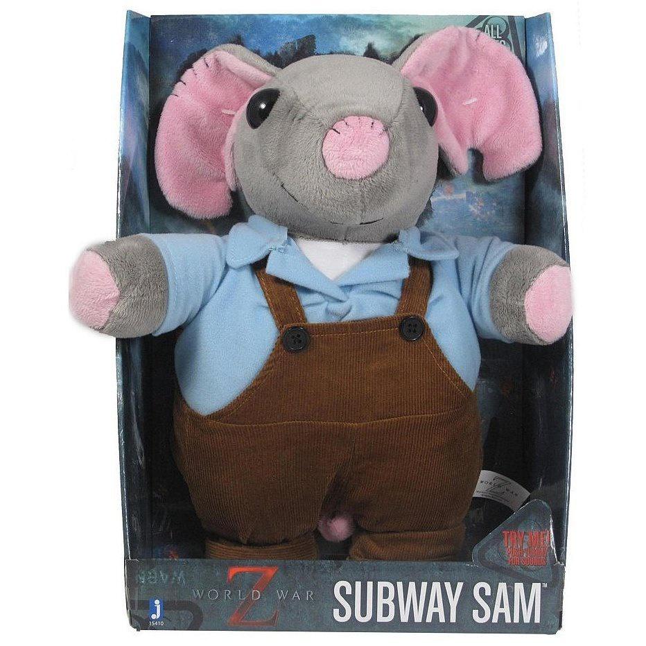 Плюш World War Z Subway Sam со звуком (35см) brooks m world war z page 5