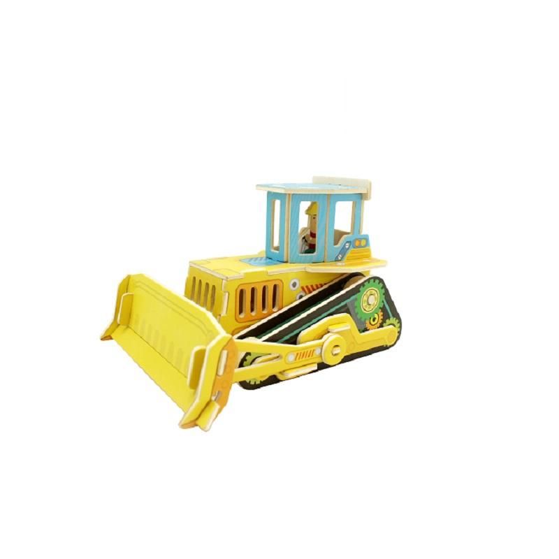 Развивающая игрушка Robotime Technology бульдозер