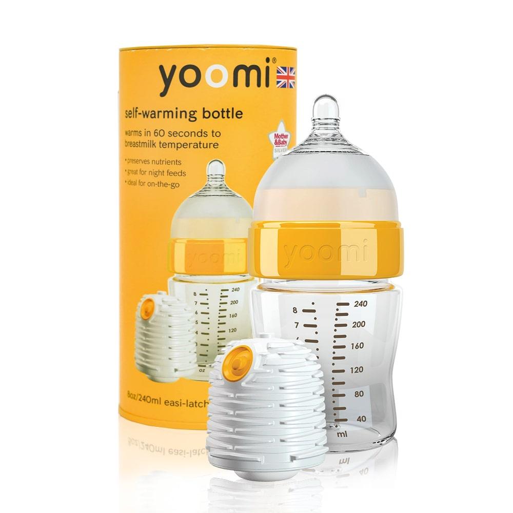 Бутылочка для кормления yoomi easi-latch bottle