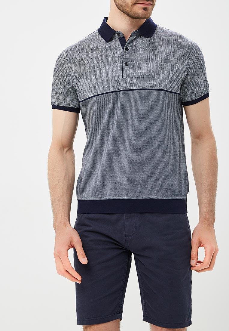 Поло La Biali 9677-1/2 серый_48, серый 48 размер9677-1/2 серый_48Поло la Biali выполнено из натурального хлопка. Детали: прямой крой, отложной воротник с планкой на пуговицах, короткие рукава, логотип бренда.