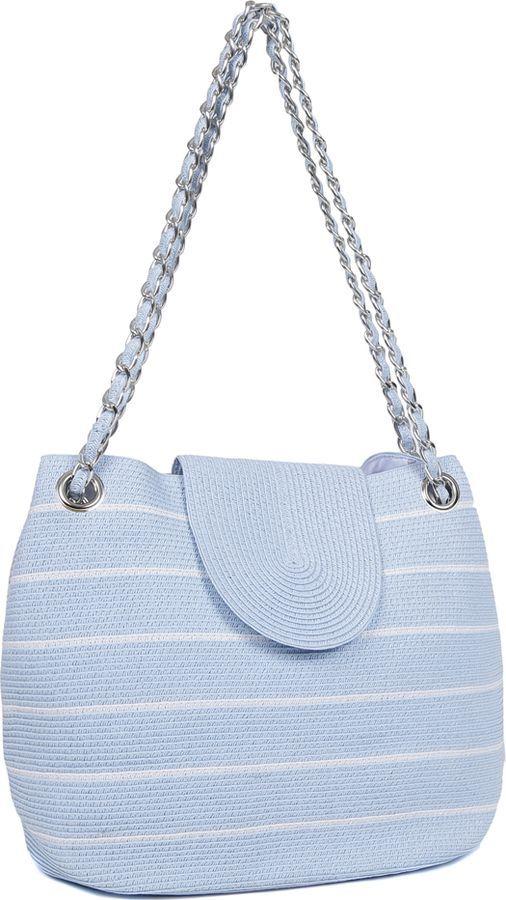 купить Сумка женская Fabretti, белый, голубой, GB11-14/4 white/blue по цене 2347 рублей