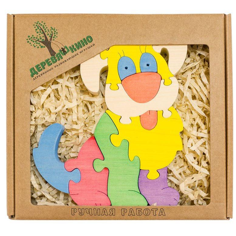 Развивающая игрушка Деревяшкино собачка развивающая игрушка деревяшкино танк
