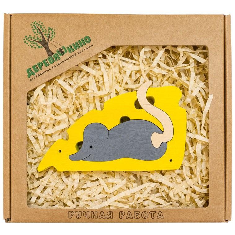 Развивающая игрушка Деревяшкино мышка развивающая игрушка деревяшкино танк