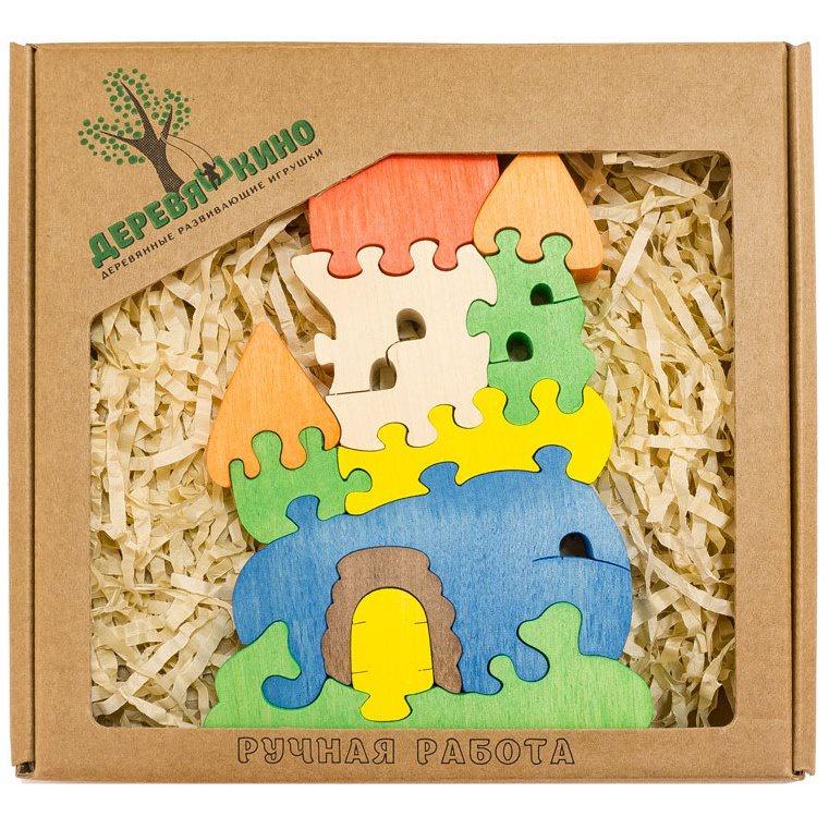 Развивающая игрушка Деревяшкино замок развивающая игрушка деревяшкино танк