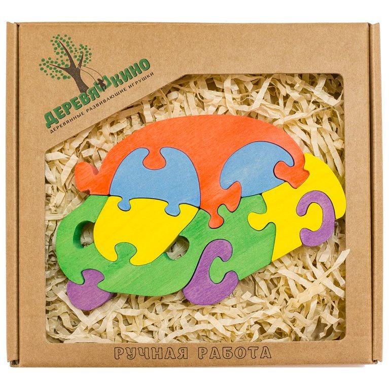 Развивающая игрушка Деревяшкино автомобиль развивающая игрушка деревяшкино танк